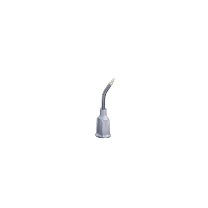 "ESD-Safe Bent Metal Vacuum Probe, .025"" OD x .015"" ID, with Beige Small Part Tip"