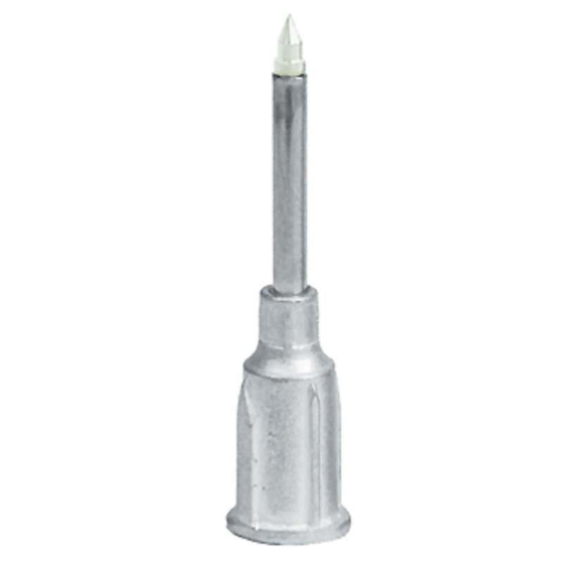 """ESD-Safe Metal Probe with Dissipative Delrin Small Part Vacuum Tip, .003"""" ID (.008"""" OD)"""
