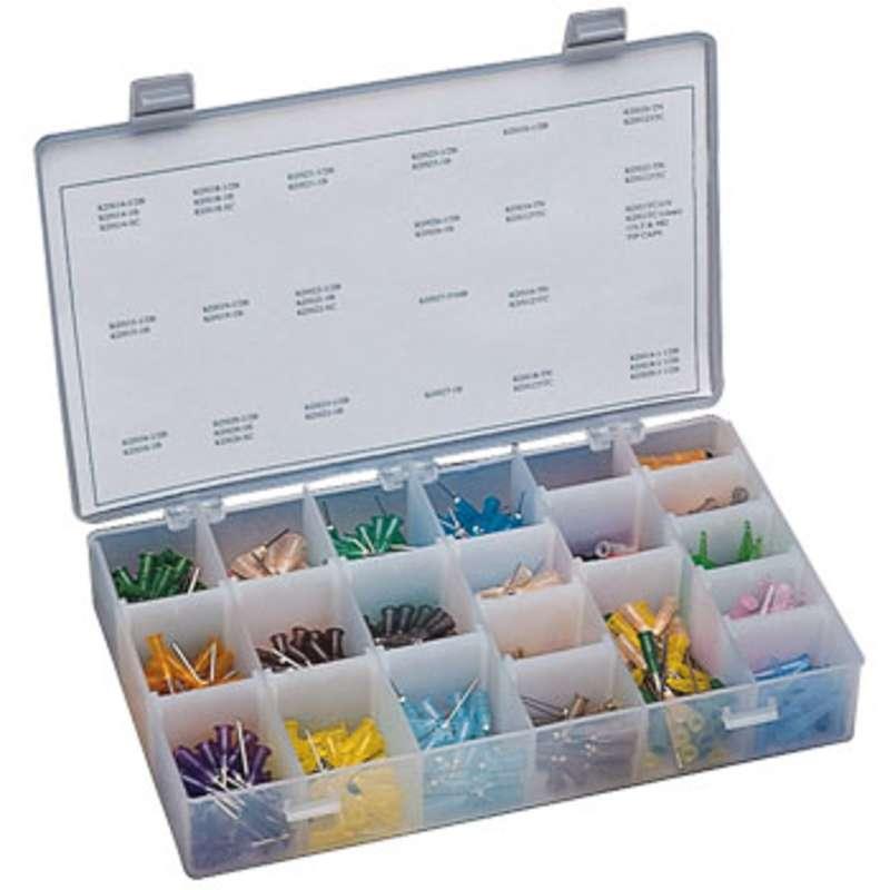 Threaded Hub Dispensing Needle Kit for Luer Lock Syringes, 500 Piece Assortment