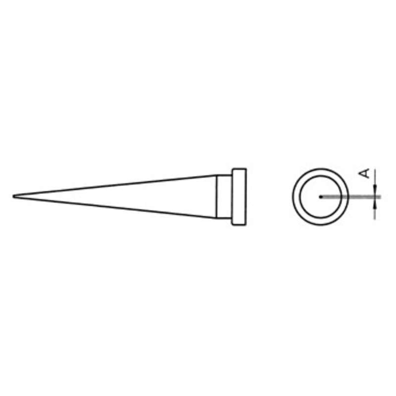 """LT Series Conical Solder Tip for WSP80 Iron, .980"""" x .008"""""""