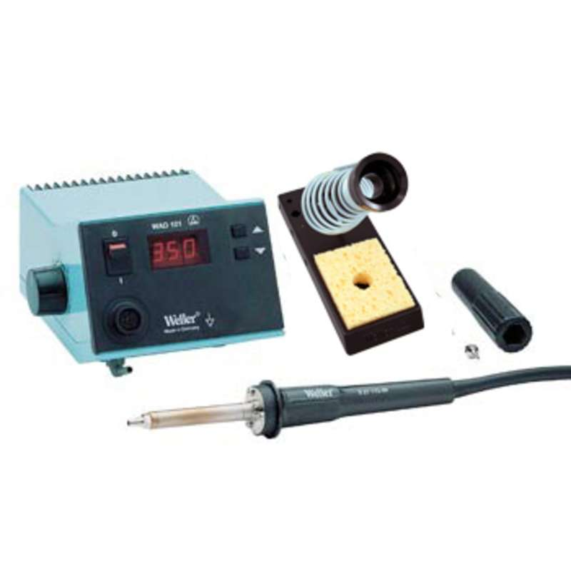 WAD101 ESD-Safe Digital Hot Air Station with HAP1 Pencil, PH60 Stand and Sponge