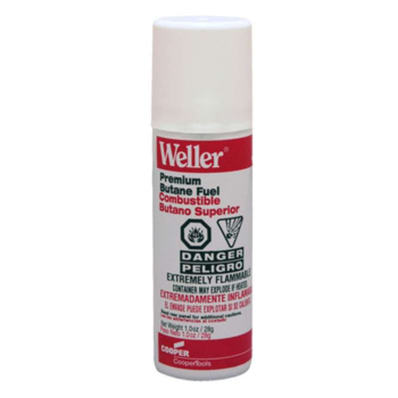 Weller Portasol 1.0 oz Butane Refill for Portasol and Pyropen Irons