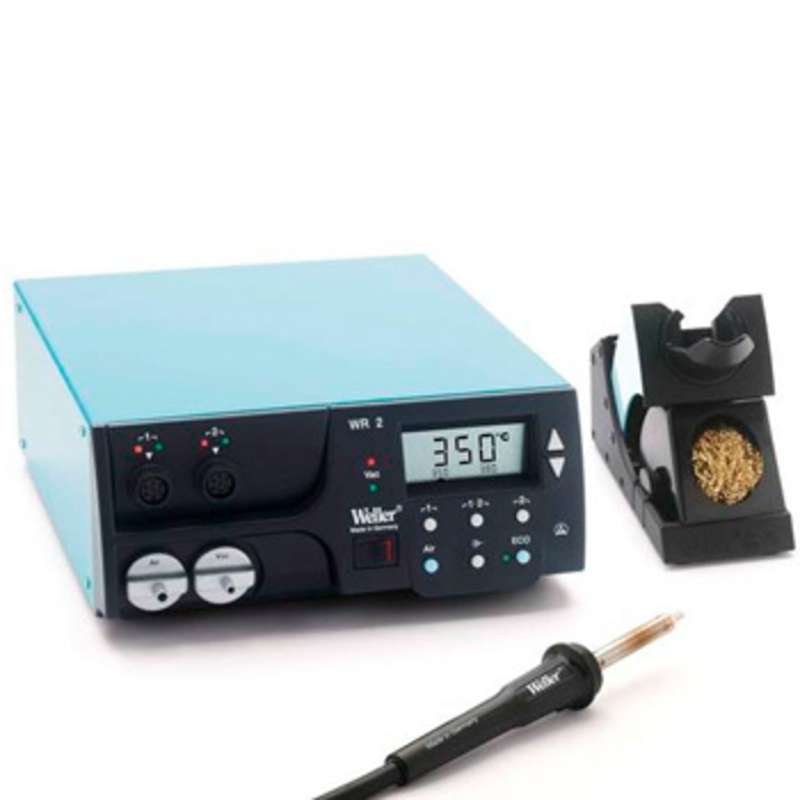 WR2000 Digital Self-Contained Dual Channel Rework Station with HAP 1 Hot Air Pencil