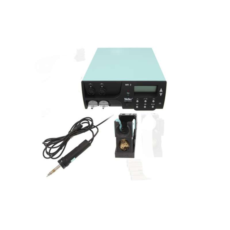 Digital Self-Contained Dual Channel Rework Station with DXV80 Desoldering Iron