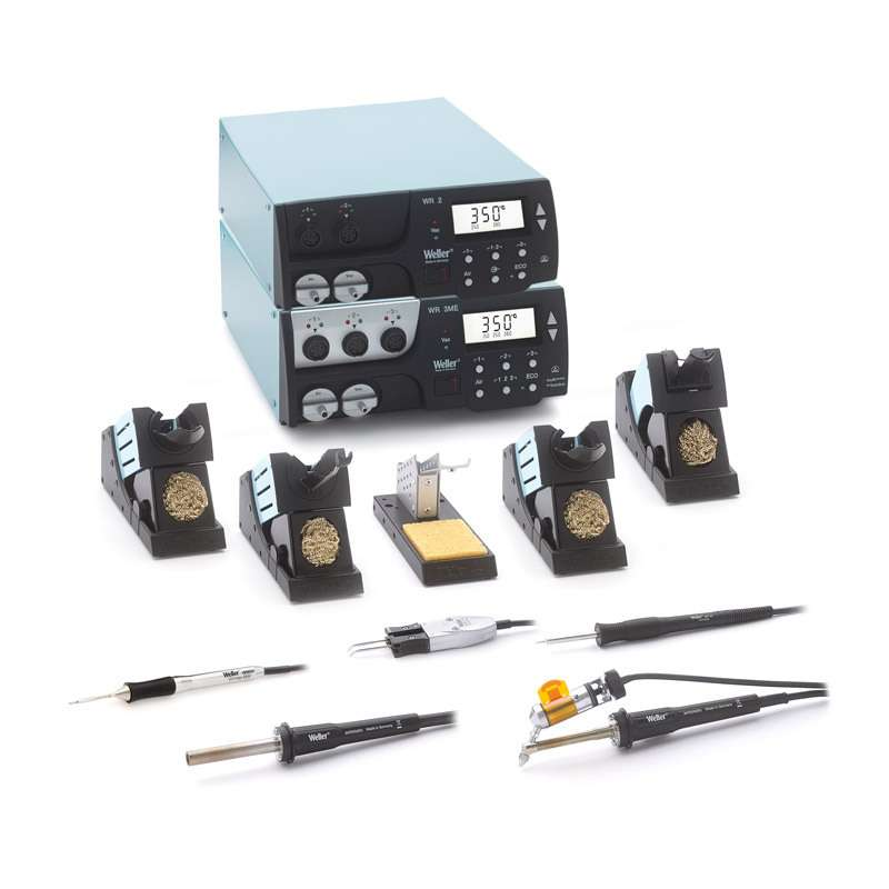 WR Series Multi-Channel Digital Rework System with WR3M, WR2, WP65, WMRP, DSX120, WMRT and HAP200