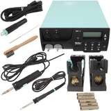 Digital Self-Contained Dual Channel Rework Station with DXV80 Desoldering Pencil