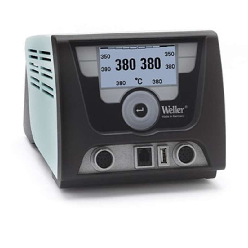 ESD-Safe WX Series Digital Dual Channel Soldering Station Power Unit, 120V
