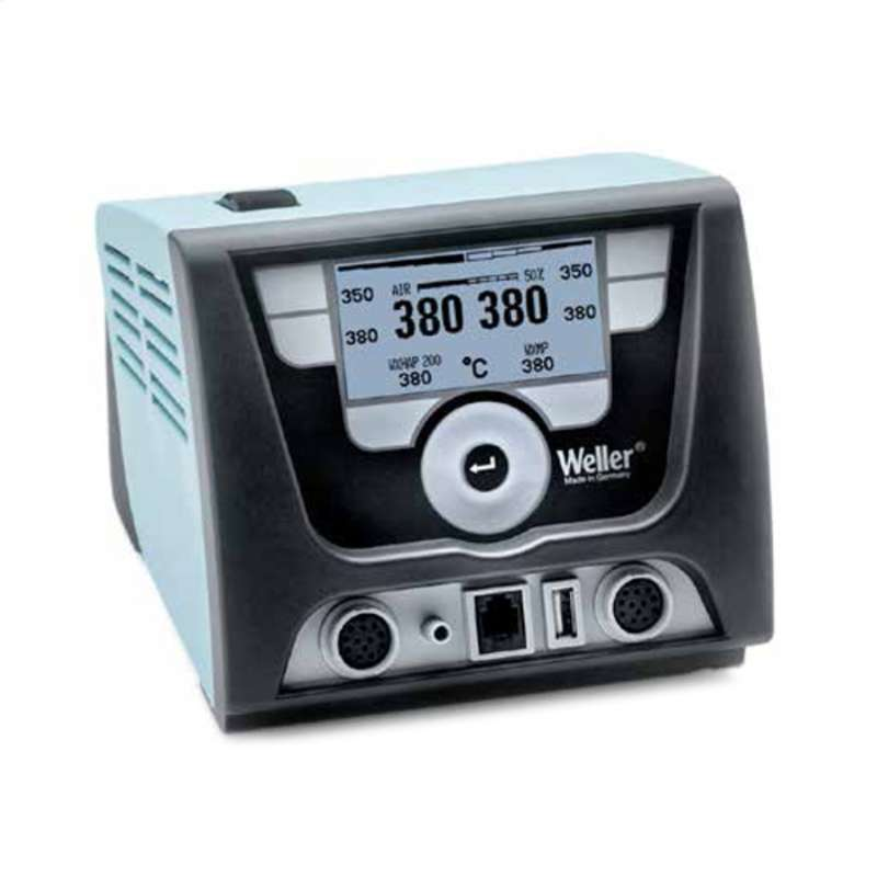 ESD-Safe WX Series Digital Dual Channel Hot Air Station Power Unit, 120V