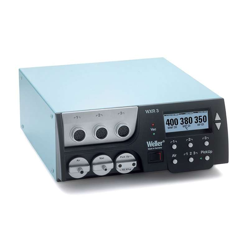 Digital Selfcontained All-In-One Rework station, Control Unit Only, 3 Ports (120V)