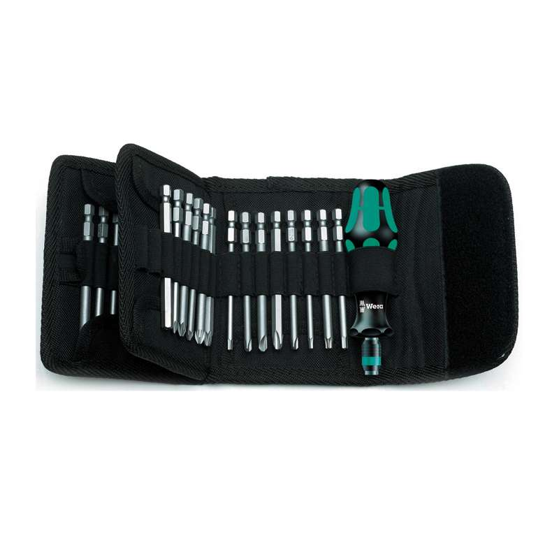 62 Series Kraftform Kompakt® Bit Holding Screwdriver Set with Interchangeable Blades, 33 Pieces