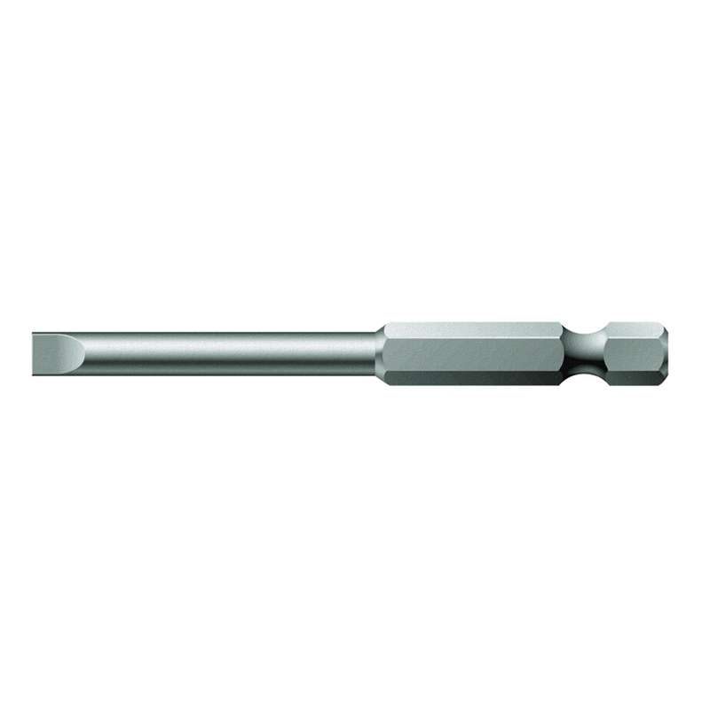 "800/4 Z Series Slotted Head Power Bit for 1/4"" Hex Drive, 6.5mm x 2-3/4"" Long"