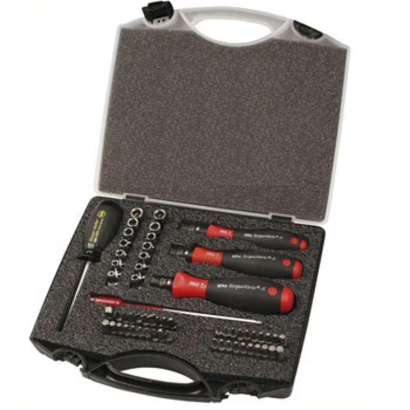 TorqueVario® Master Torque Control Set with 1-50 in-lbs Adjustable Handle, 59 Pieces