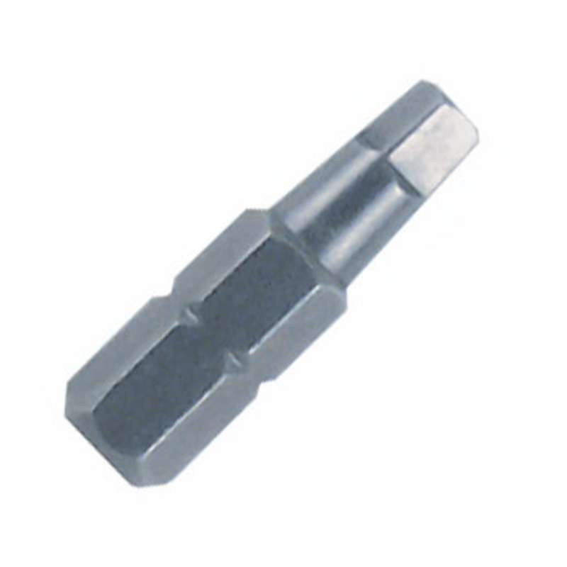 "Square Recess Head Insert Bit for 1/4"" Hex Drive, #3 x 1"" Long"