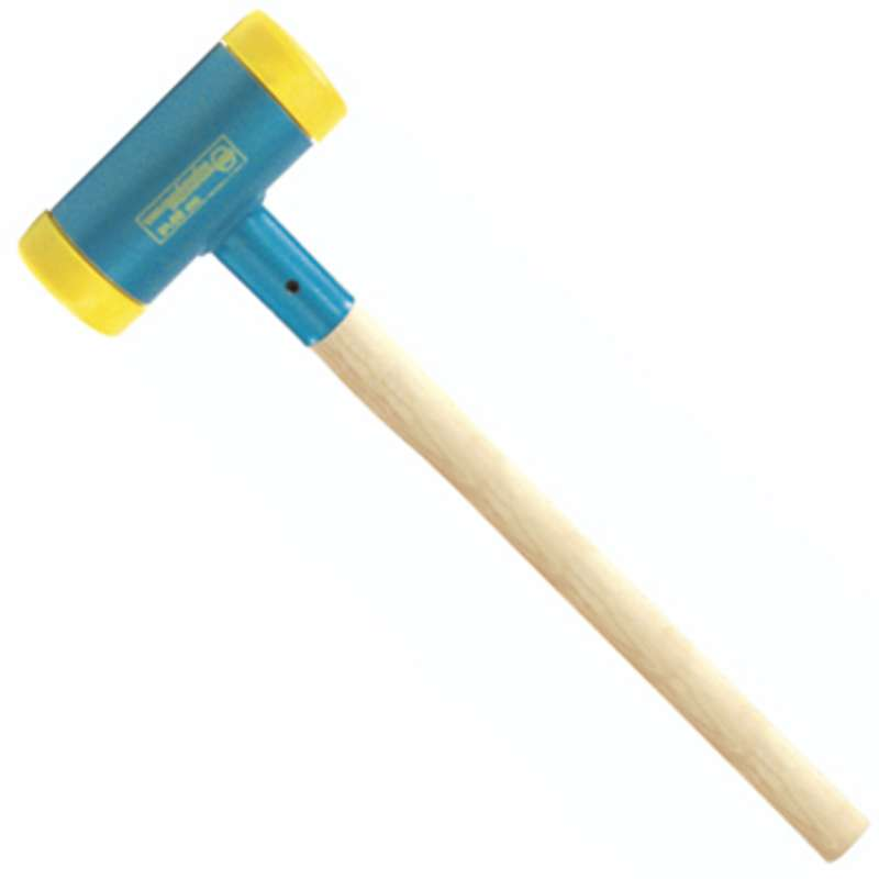 "Dead Blow Sledge Hammer, Hickory Handle, 3.9"" Face, 43.2"" Overall Length"