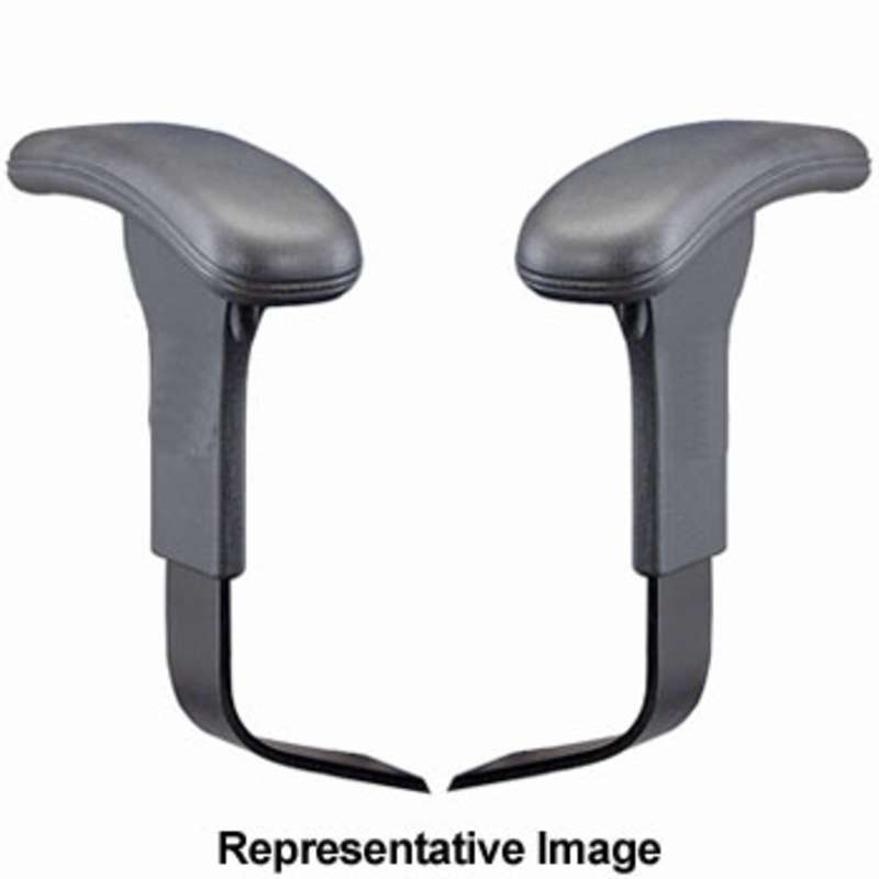 Quick Ship ESD-Safe Adjustable Arm Rests for WSI Chairs