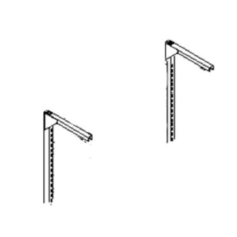 Quick Ship Bracket Assembly for Tool Trolley and Overhead Light