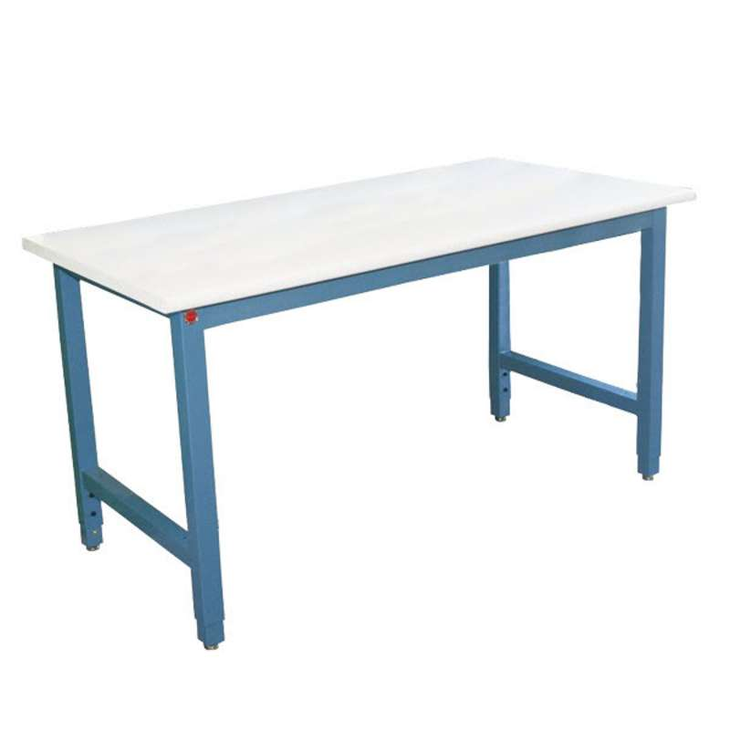 """Production Series Quick Ship ESD Workbench, Adjustable Height, 36""""D x 48""""W"""
