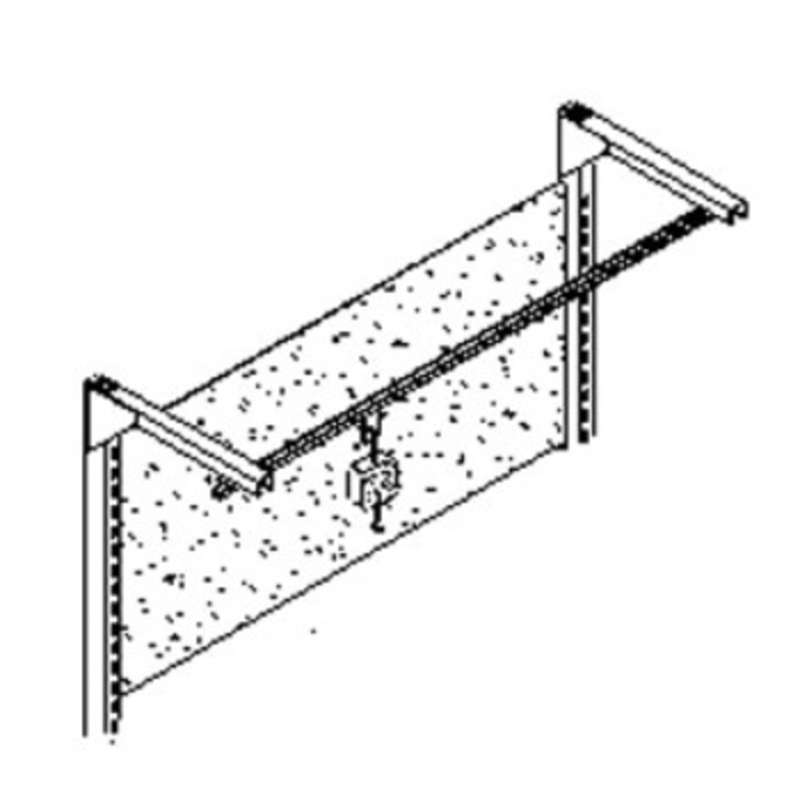 "Quick Ship Concept 2000 Tool Trolley, 96"", without Brackets"