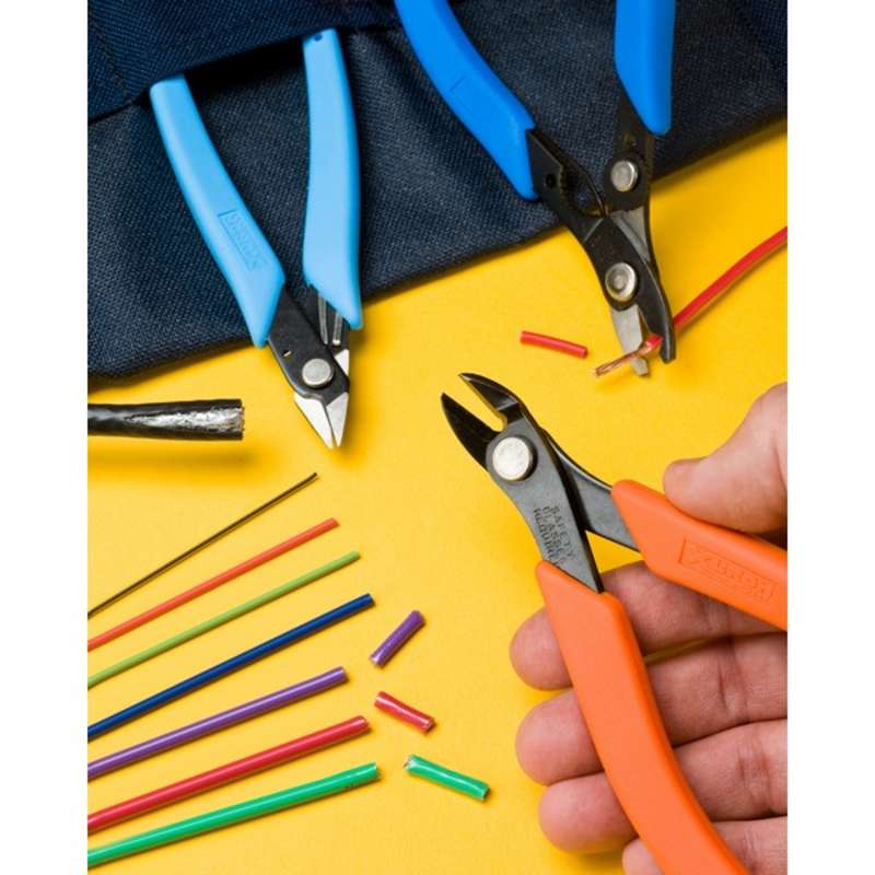 Wire Harness Tool Kit, with Adjustable Wire Stripper/Cutter, Maxi-Shear, Flush Cutter, and Mini-Shear