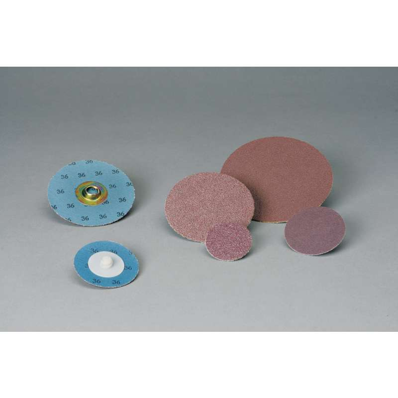 4 in 80 3M Standard Abrasives Quick Change TSM A//O 2 Ply Disc 522606