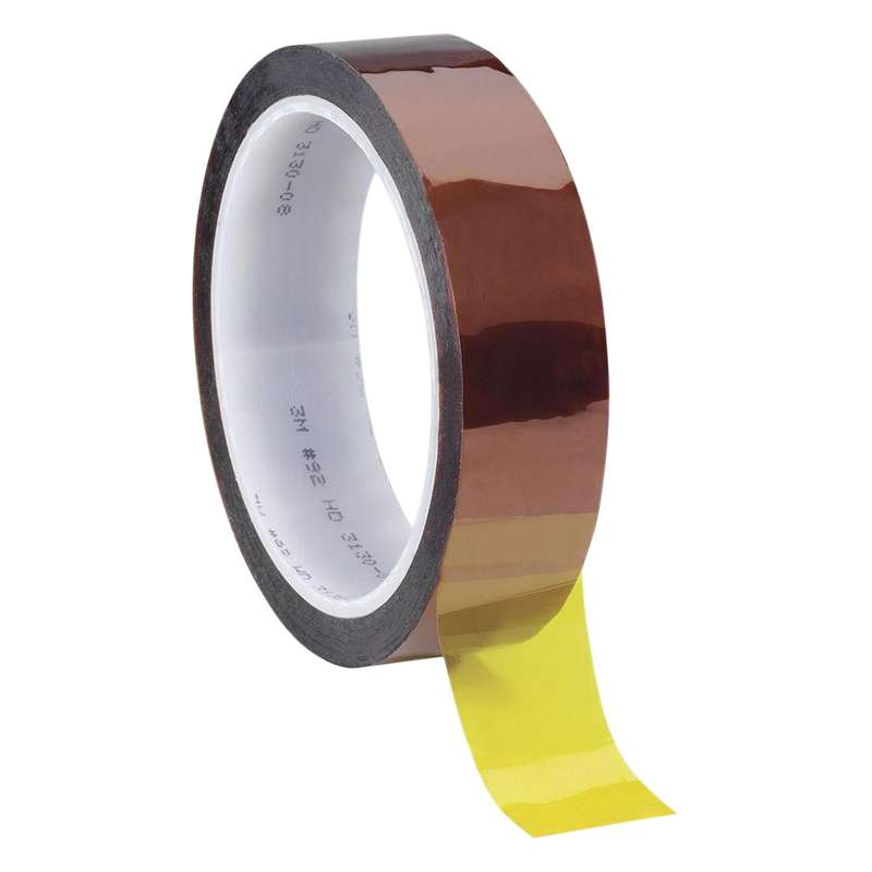 92 Series Polyimide Film Electrical Tape, 1.25in x 36yds