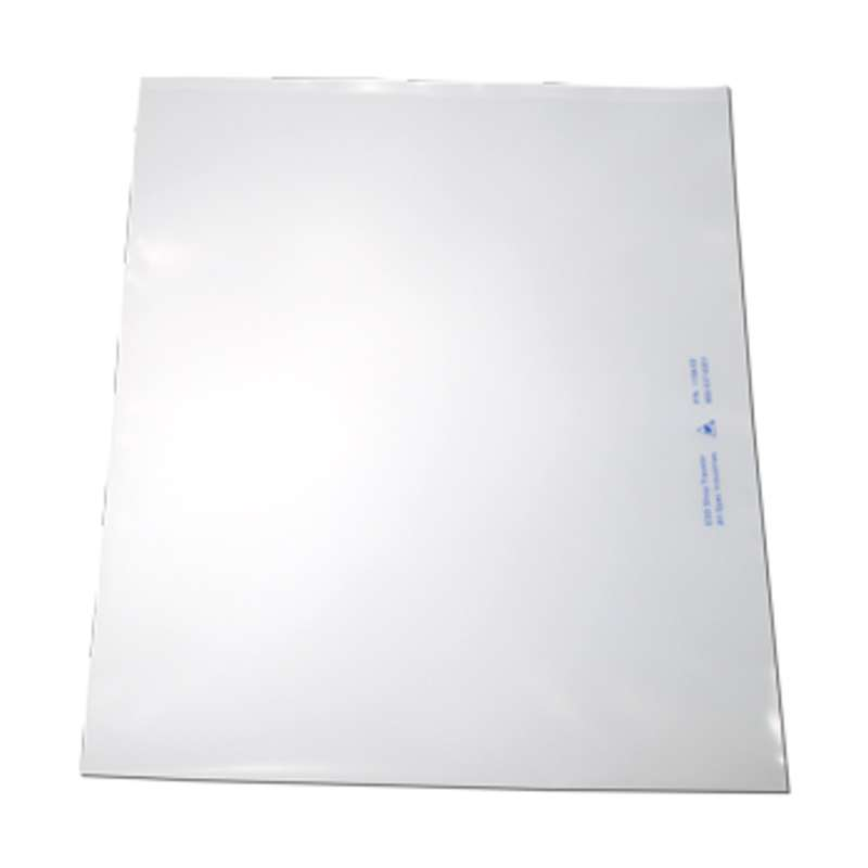 """ESD-Safe Dissipative Shop Traveler, Clear, 10 x 12"""" x 6mil Thick"""