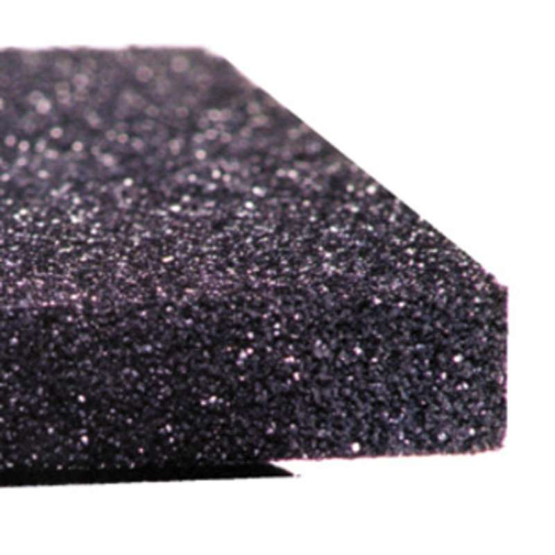 "Conductive Polyethylene Black Foam, High Density, 1/4 x 29 x 35"""
