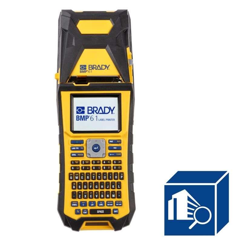 BMP61 Handheld Label Printer with Brady Workstation SFID Software Suite Kit