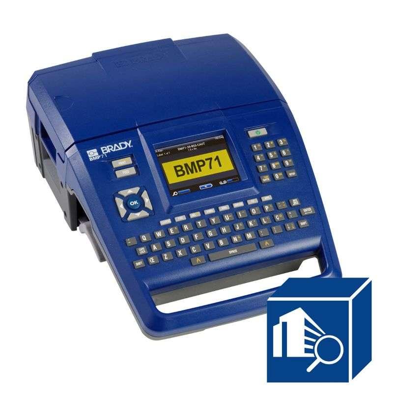 BMP71 Handheld Label Printer with Brady Workstation SFID Software Suite Kit