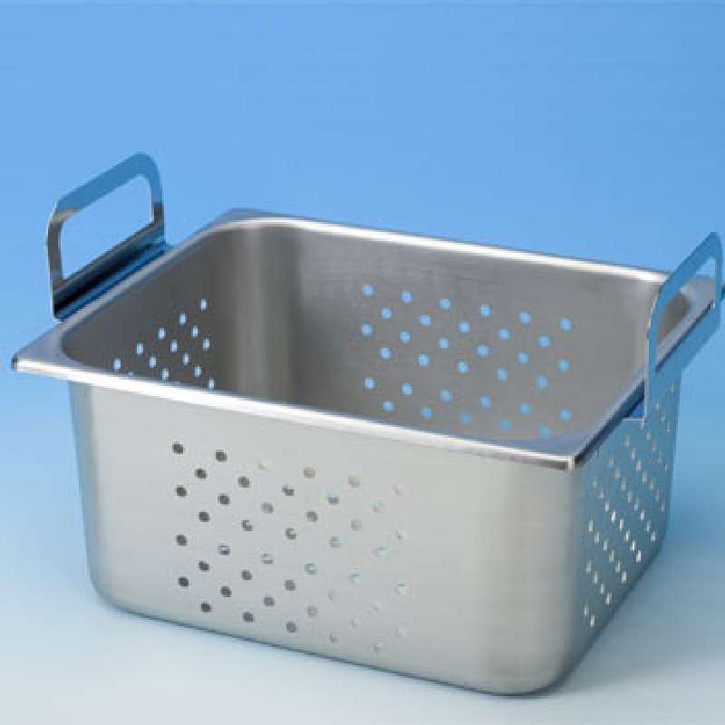 """Perforated Tray for use with M8800 and B8510 Cleaners, 17.5 x 9.5 x 6"""""""