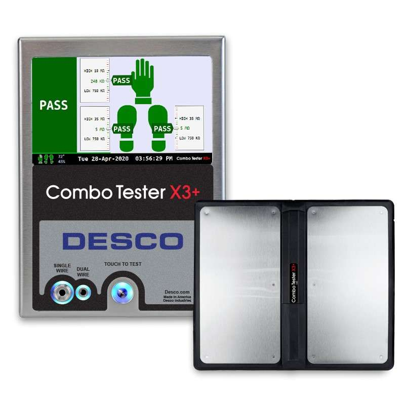 Combo Tester X3 Plus with Dual Foot Plate