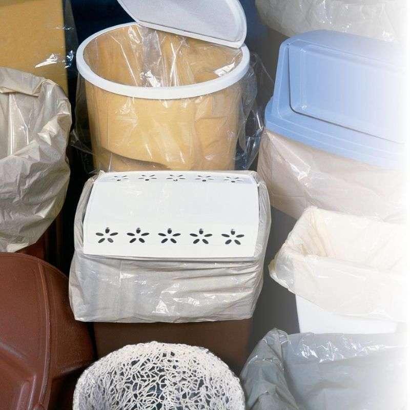 Extra Heavy Gauge Trash Liner, Clear 55 Gallon, 100 per Case