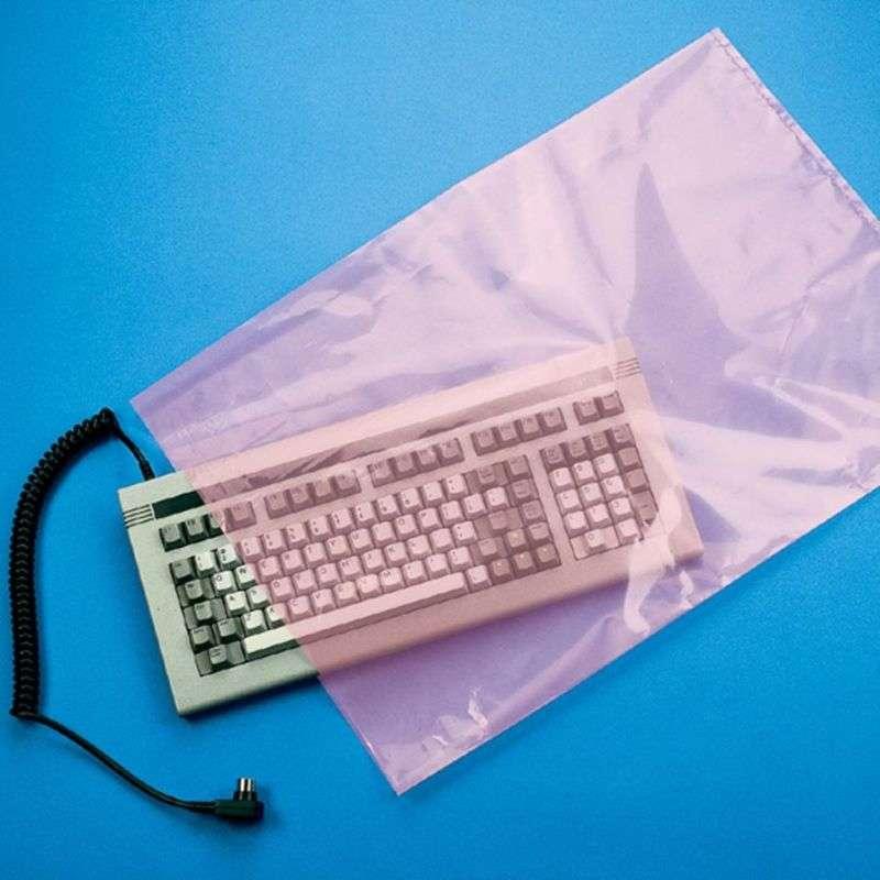 Pink Anti-Static Bag 2mil 10X16 1,000/CA
