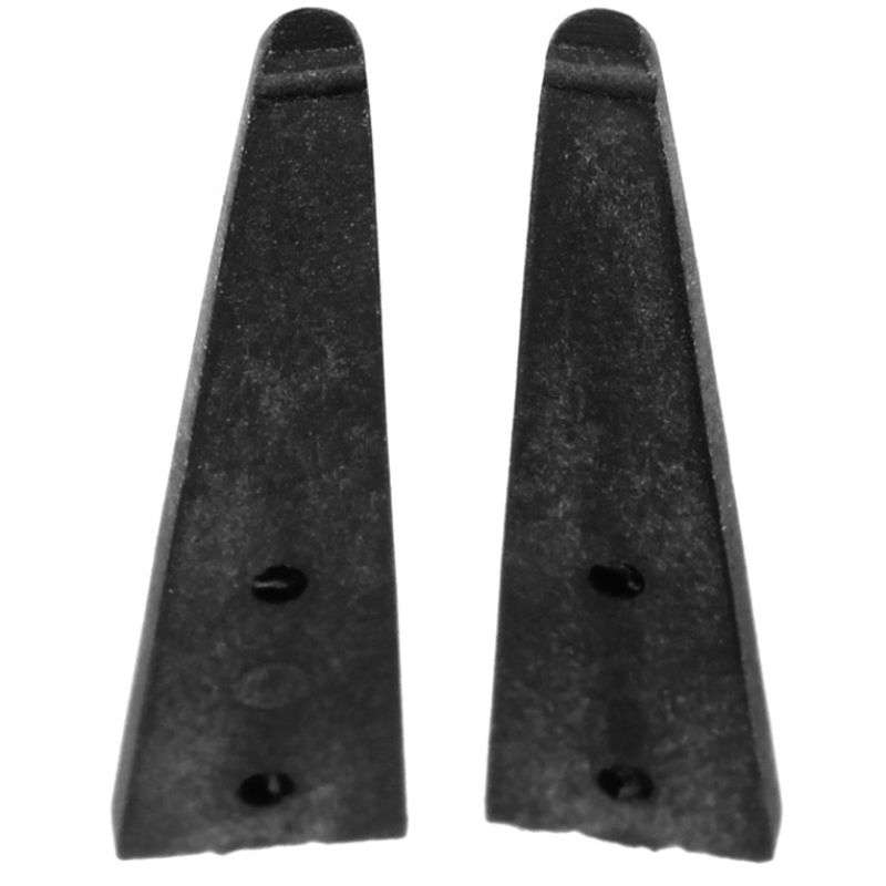 """SMD (Surface Mount Device) Straight Broad Soft 0.39""""Hole Carbon Fiber Replacement Tips for 116-CF Tweezers"""