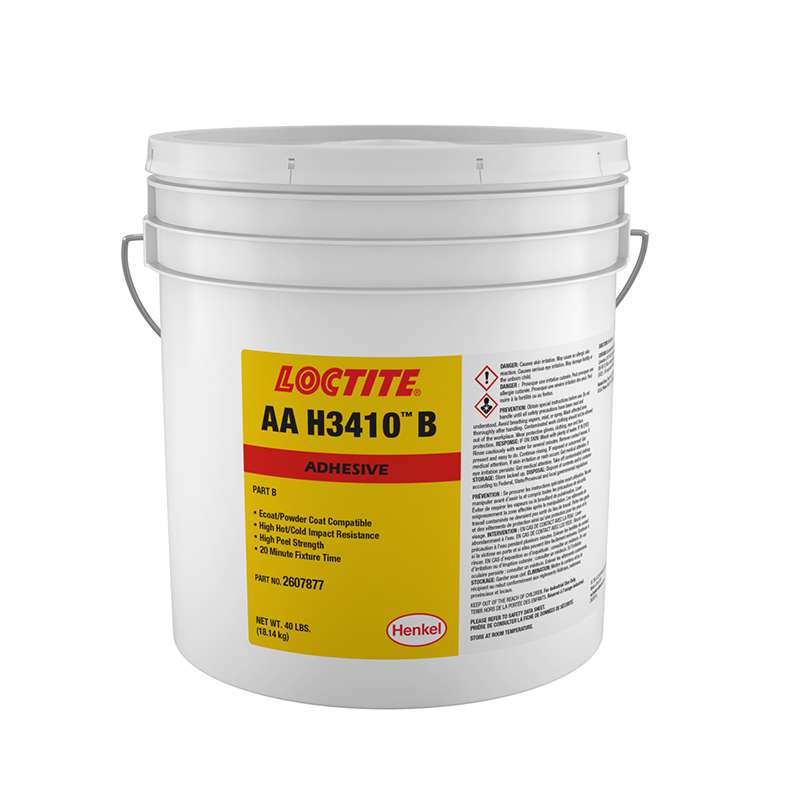 AA H3410B 40lb (18.14 kg) Open Head Pail with Lid (Only Part B)