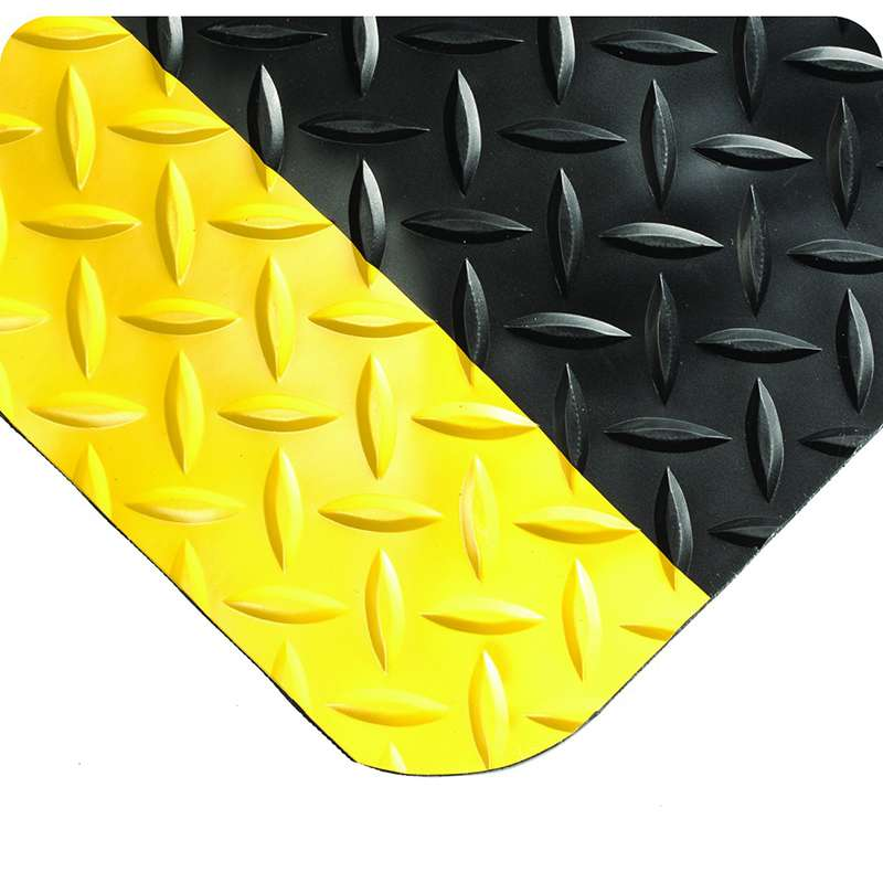 Wearwell Diamond Plate Select 495.1516X3X75BYL