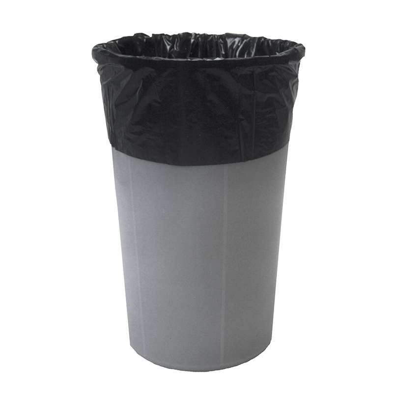 "Blac-Stat™ Conductive 4mil Black Polyethylene 30 Gallon Drum Liner, 36 x 30"", 100 per Carton"