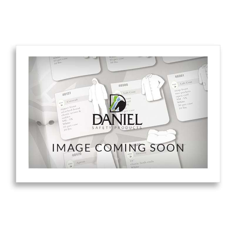 DSP347 Series Lab Coat with Snap Front and Elastic Wrists, White, XL, 30 per Case