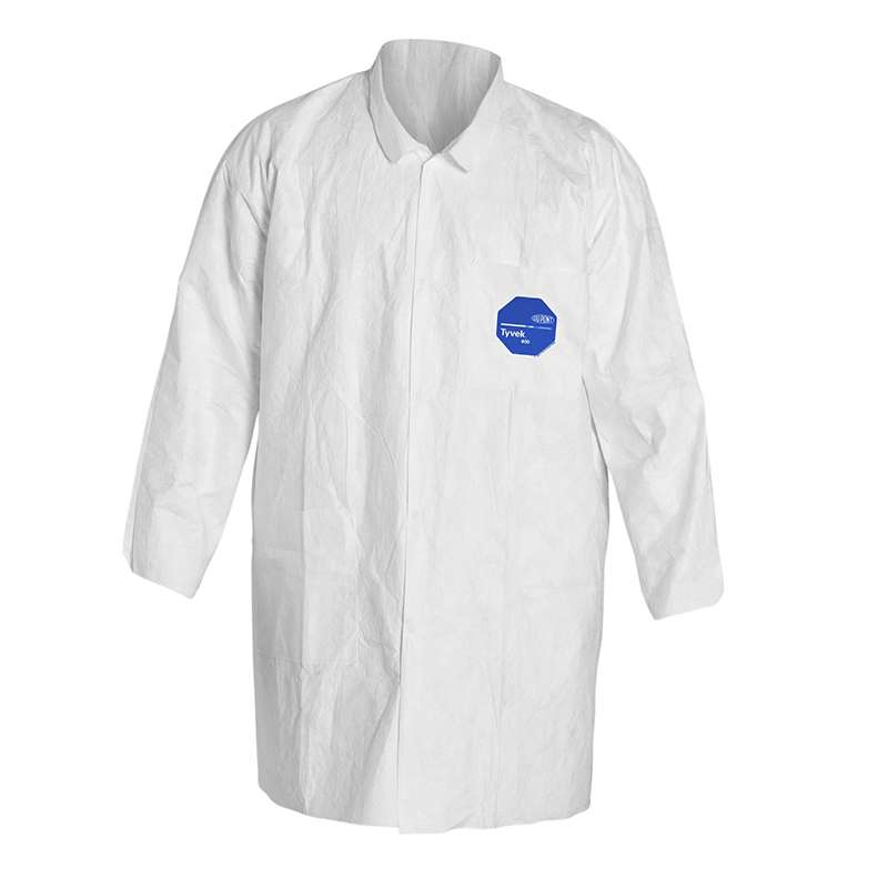 TY212S Series Lab Coat with Snap Front, Two Pockets and Open Cuffs, 2XL, 30 per Case