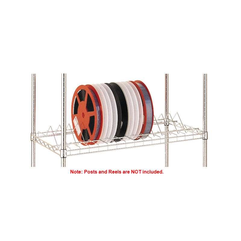 """Super Erecta SMT Reel Shelf for 13""""- 15"""" Reels, Brite, 18"""" x 36"""""""