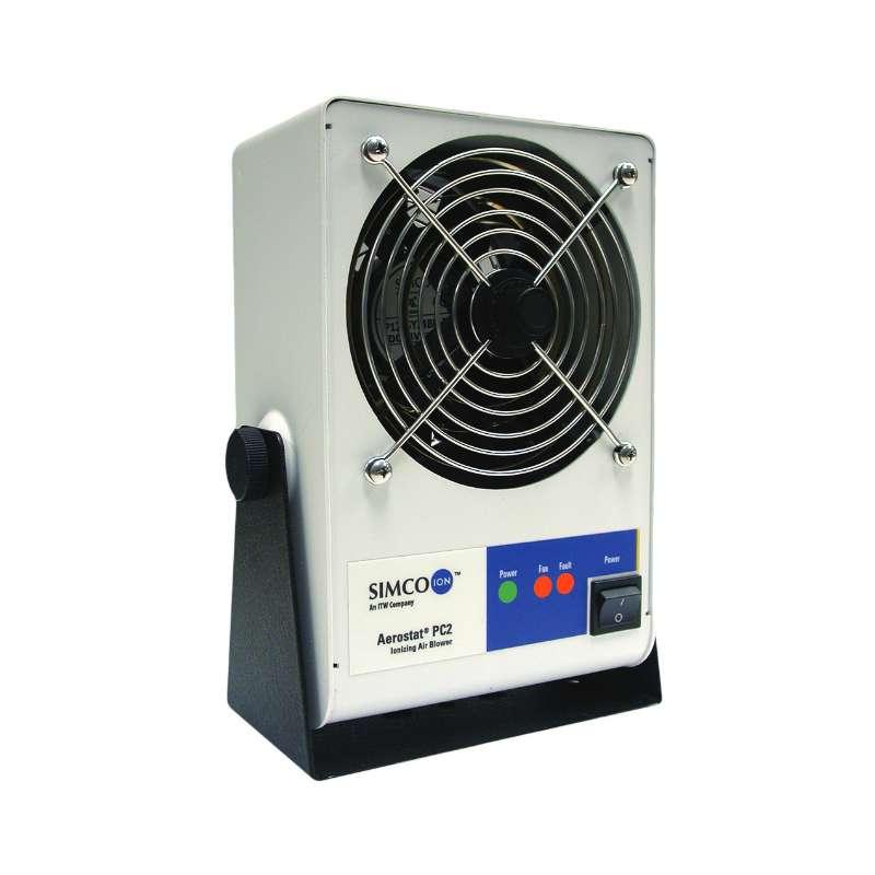 Aerostat PC2 Air Blower Benchtop Ionizer with Heater 120V 60 Hz