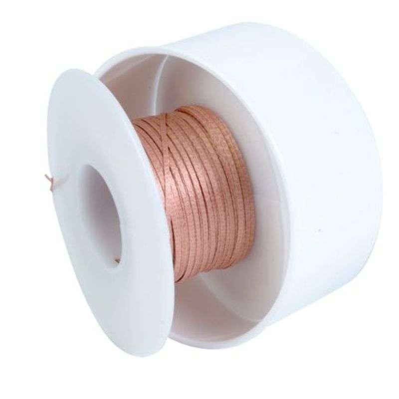 """ProWick® Rosin Desoldering Braid, .193"""", 100' Red Standard Spool"""