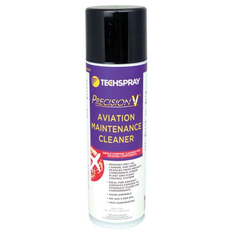 Precision-V Aviation Maintenance Cleaner, 19 oz. Aerosol