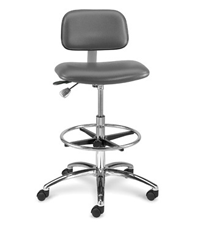 Bevco 4000 Series Ergonomic Industrial and Cleanroom Seating