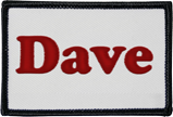 name patch