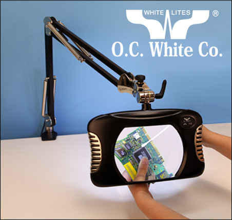 O.C. White Green-lite Magnifiers