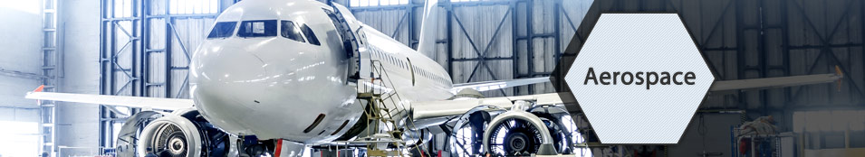Hisco Aerospace - Photo of a commercial airliner in a hangar